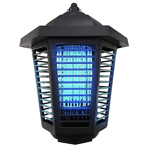 AZWE Insektenschutzmittel Elektrische Insektenvernichter - 2019 Verbesserter Mückenvernichter Super 20W UV-Lampenraum für den Außenbereich Elektronische Fliegenfalle für den Innenbereich. -