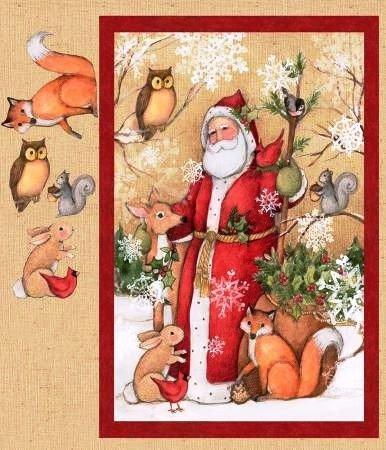 Vecchio mondo Babbo Natale Quilting TV