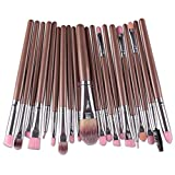 Pennelli Make Up Set Pennelli Trucco,Pennelli Make Up Set Pennelli Trucco,Pinceaux Maquillage Cosmétique Professionnel,Pinselset Make Up Pinsel Set,Profesionales Para Maquillaje Kit,20Pzas Café Pl