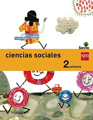 Ciencias sociales. 2 Primaria. Savia - 9788467575118 por Pilar Menéndez Camarena