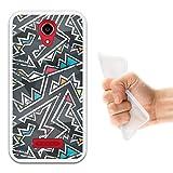 WoowCase Doogee X3 Hülle, Handyhülle Silikon für [ Doogee X3 ] Graffiti ohne Naht Handytasche Handy Cover Case Schutzhülle Flexible TPU - Transparent