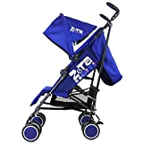 Zeta Citi Stroller Buggy Pushchair - Navy + Raincover