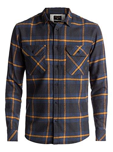 Quiksilver Fitz Forktail Flannel - Long Sleeve Shirt - Langarm-Hemd - Männer (Hemd Quiksilver Herren)