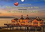 12 wunderschöne Sehenswürdigkeiten in Deutschland (Wandkalender 2019 DIN A4 quer): Jeden Monat eine beeindruckende Sehenswürdigkeit in Deutschland ... (Monatskalender, 14 Seiten ) (CALVENDO Orte)