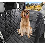 Pet Seat Cover, Lifepul Dog Seat Cover For Cars Anti Slip In Large Size - Perfect For Cars, SUVs and Trucks In Universal Size, WaterProof & Hammock
