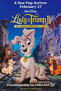 Lady and the Tramp II - Movie Poster - 28x44cm
