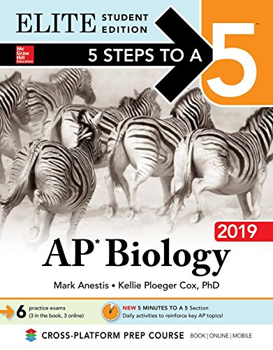5 Steps to a 5: AP Biology 2019 Elite Student Edition