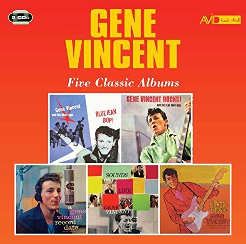 Five Classic Albums (Bluejean Bop / Gene Vincent Rocks! And The Blue Caps Roll / A Gene Vincent Record Date / Sounds Like Gene Vincent / Crazy Times)