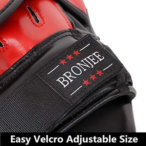 GBFR Striking Shield 1PC Paio Di Nero Rosso Universal Boxe elettrodi per adulti Boxing Pad Boxe Bambini...