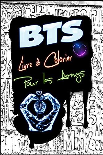 BTS Livre à Colorier Pour les Armys: Pour soulager le stress, Jungkook, Jimin, V