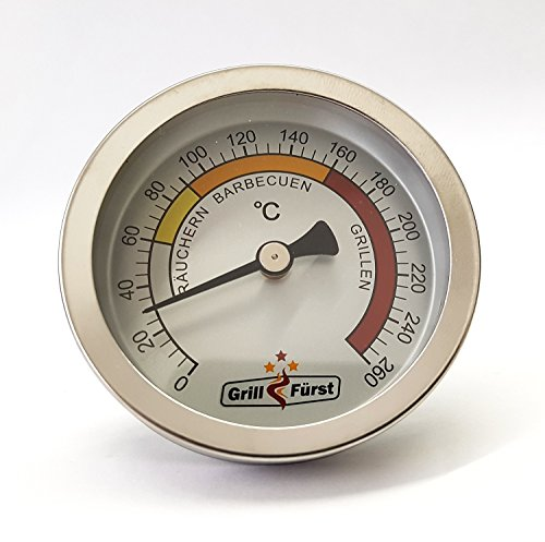 Grillfürst Deckelthermometer - Grill Thermometer Therm260 (Therm 260) - 2