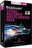Bitdefender Total Security Multi-Device 2016 (5 utilisateurs, 2 ans) - Appareils illimités...