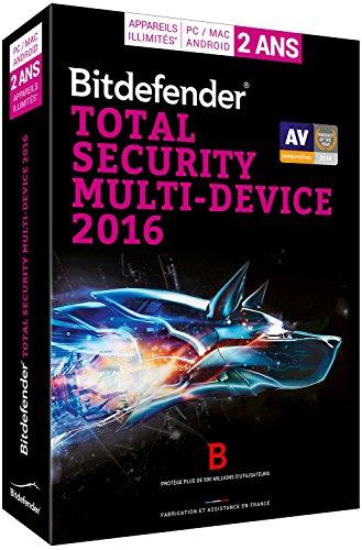 Bitdefender Total Security Multi-Device 2016 (5 utilisateurs, 2 ans) - Appareils illimités