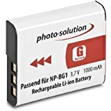 Solution Photo NP-BG1 Batterie Lithium-Ion pour Sony Cybershot