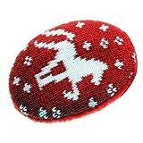 Earbags FASHION Ohrwärmer Mütze war gestern Fashion Ohrenschützer, Farbe Strickpferd rot, Größe M