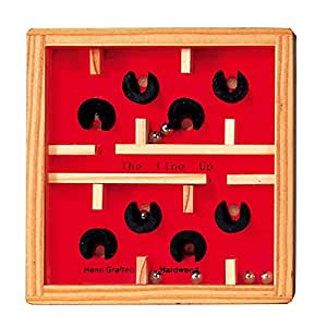 """Fridolin 17491 """"Labyrinth"""" Game Of Skill Made from Wood"""
