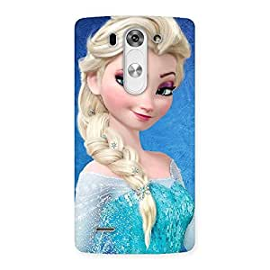Special Winked Princess Freez Multicolor Back Case Cover for LG G3 Mini