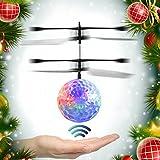 Toy - EpochAir Mini Flugzeug-Hubschrauber, Kinder Fliegen RC Kugel-LED-Blitzen-Licht Flugzeug-Hubschrauber-Infrarot-Induktions-RC Spielzeug