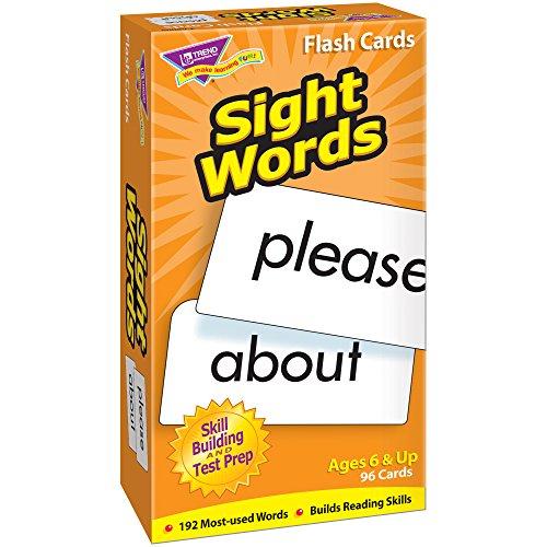 TREND UNTERNEHMEN T-Flash-Karten 53003 SICHT WORDS-96/BOX (Trend Flash-karten)