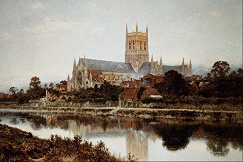 564097 _Worcester Cathedral_ Benjamin Williams Leader A4 Photo Poster Print 10x8 -