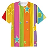 Snoogg Abstract Christmas Strings Mens Casual All Over Printed T Shirts Tees Amazon