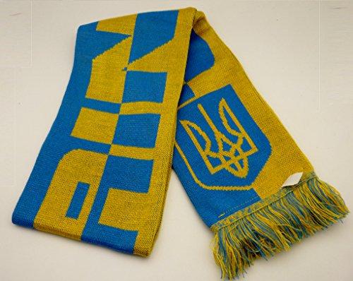 schal Ukraine Fußball land country fan football scarf Ukraine Україна