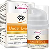 StBotanica Under Eye Cream (With Vitamin E, B3, Hyaluronic acid, Aloe Vera, Cucumber, Argan Oil), 30ml