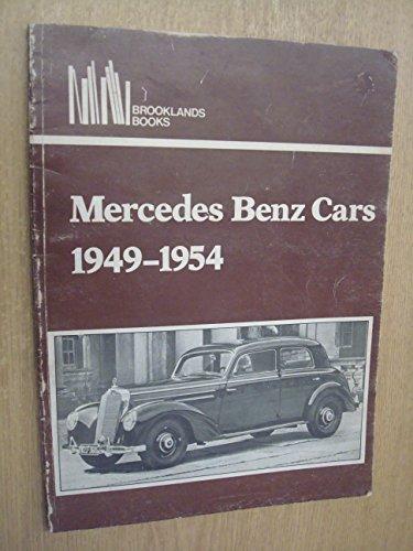 Mercedes Benz Cars 1949-1954 - 1951 1952 1953 1954 Car