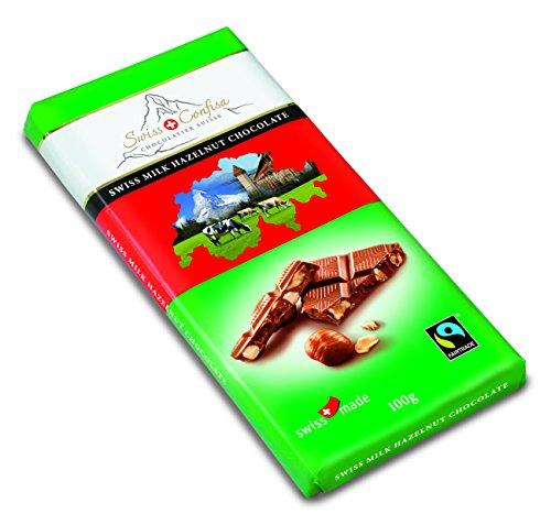 Swiss Confisa Schweizer Milchschokolade Lait Noisettes, 5er Pack (5 x 100 g)