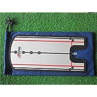 A99 Golf Poner Espejo formación alineación Nueva Ayuda práctica Trainer portátil