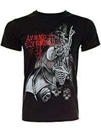 Avenged Sevenfold Spine Climber Black T Shirt Small
