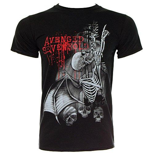 T Shirt Avenged Sevenfold Spine Climber (Nero) - Medium