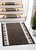 Casa Design 3707 Edelvelours -Läuferware, Teppichläufer, Läufer Breite 67 cm x 550 cm lang Fb.221 braun, gewebt und rundum gekettelt. Teppichläufer Meterware 80 cm breit nach Maß Teppich Brücke Flur in vielen Längen lieferbar Gewicht ca. 1800 g/m² 100% Polypropylen auf Wunsch auch cm-genau zugeschnitten. Dazu auf Wunsch passende Stufenmatten im Euromaß ca. 65 cm ca. 23.5 ca. 3.5 cm 1 Meter fertig konfektionierter Läufer wiegt : 1206 g
