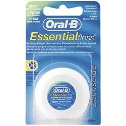 Oral-B Essentialfloss Zahnseide Mint gewachst, 50 m, 12er Pack (12 x 1 Stück)