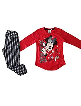Disney - Pijama Minnie Mouse - 8 ANS, Rouge