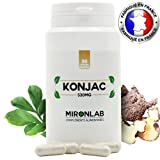 KONJAC complément minceur 530mg/gélule | 95% de glucomannanes | Idéal pour perdre du poids naturellement