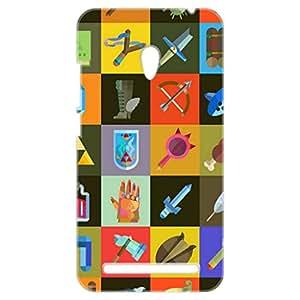 a AND b Designer Printed Mobile Back Cover / Back Case For Asus ZenFone 6 (ZEN_6_3D_1487)