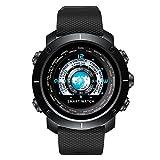 LBJ Herren Armbanduhr Smart Herzfrequenz Monitor Gesundheit Handgelenk und Herzfrequenz Kalorien Handgelenk Fashion Wasserdicht Armbanduhr