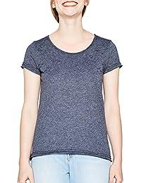 edc by ESPRIT Damen T-Shirt 077cc1k005