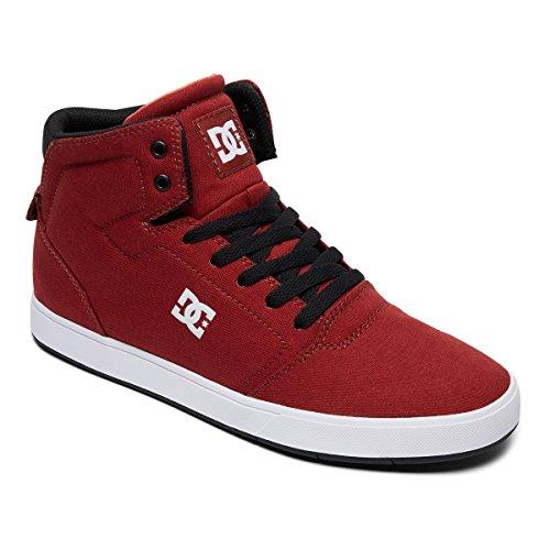 Schuhe Rot Dc-high-tops (DC Schuhe Crisis High TX Rot Gr. 45)