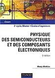 Physique des semiconducteurs et des composants électroniques