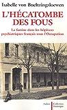 Image de L'hécatombe des fous : La famine dans les hôpitaux psychiatriques français sous l'Occupation