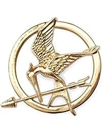Hunger Games Mockingjay broche en or
