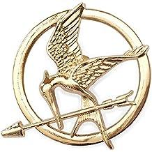 Hunger Games. Mockingjay Broche de acabado dorado