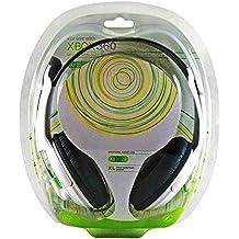 Cascos Auricular con Micro para Microsoft Xbox 360, Auriculares con Micrófono Xbox360