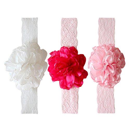 y Kinder Haarband Mädchen Stirnband Kopfband Blumen Blüte Haarschmuck Headband Hairband (Blume Hairband)