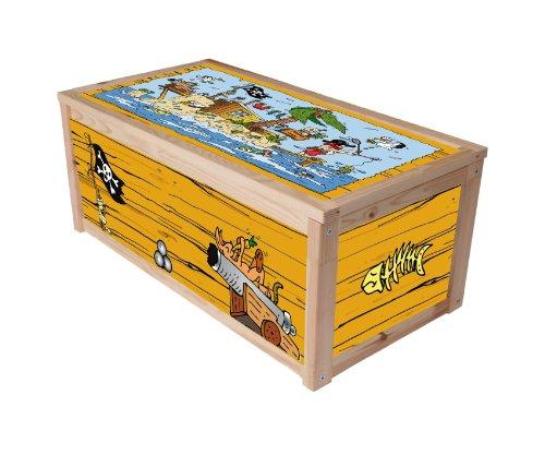 Für Spielzeug Jungen Truhen (Piraten Möbelsticker / Aufkleber für die Kiste / Box APA von IKEA - IM172)