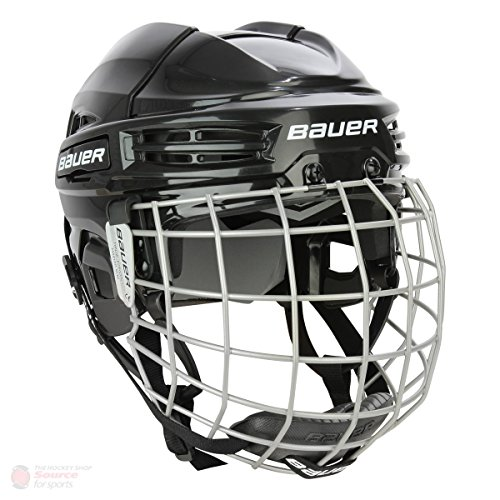 Casco de hockey Bauer IMS 5.0, color negro, tamaño Small