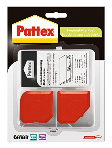 Pattex 1759657 Ensemble joint lisse, Rouge
