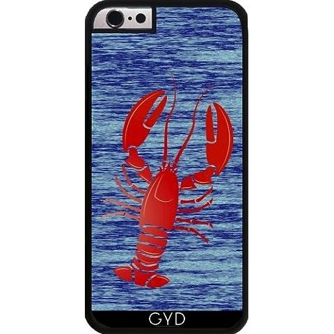 Custodia in silicone per Iphone 6/6S Plus - Aragosta by (Lobster Personalizzato)